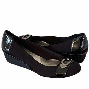 Anne Klein Sport Danveer Wedge Black Size 11